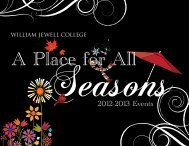 2012-2013 Events - William Jewell College