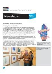 Newsletter - Židovské muzeum v Praze