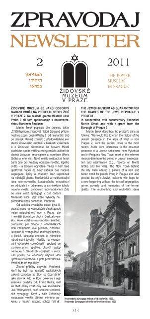 2/2011 - Židovské muzeum v Praze