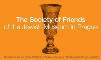 The Society of Friends of the Jewish Museum in Prague