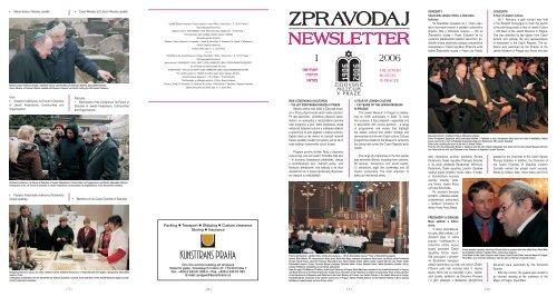Zobrazit Zpravodaj ve formátu PDF - Židovské muzeum v Praze