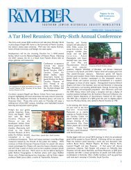 Rambler (Vol 14 Issue 2) letter - Southern Jewish Historical Society