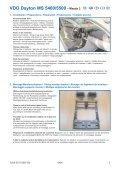 MI Navigationssystem 5400-5500 Mazda 3- D-GB- F- I-E.qxd - jewuwa - Page 2