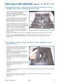 MI Navigationssystem 5400-5500 Mazda 3- D-GB- F- I-E.qxd - jewuwa - Page 3