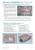 MI Navigationssystem 5400-5500 Mazda 3- D-GB- F- I-E.qxd - jewuwa - Page 4