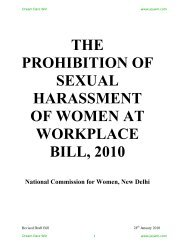 Protection of Women against Sexual Harassment in Work ... - Jeywin