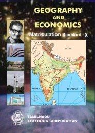 Geography and Economics – Matriculation - Jeywin
