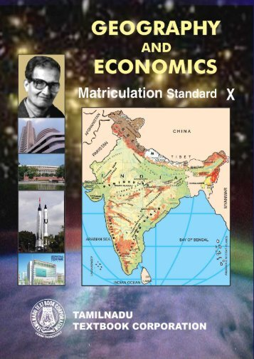 Geography and Economics – Matriculation - Jeywin
