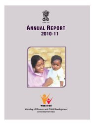 2011 Annual Report of the Ministry of Women and Child ... - Jeywin
