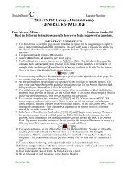 2010 (TNPSC Group – I Prelim Exam) GENERAL ... - Jeywin