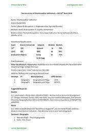 Success story of Chandrasekhar Sakhumuri – CSE 24th ... - Jeywin