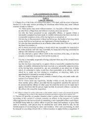 Report 177 Part II – Law relating to Arrest - Jeywin