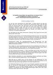 Bericht Rede Jahreshauptversammlung 2009 - Jugendfeuerwehr ...