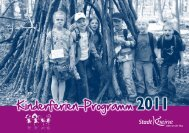 Kinderferien-Programm 2011 - Jugend- und Familiendienst eV