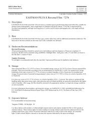 EASTMAN PLUS-X Reversal Film / 7276 - Kodak