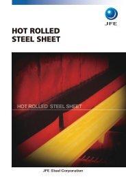 Hot Rolled Steel Sheet - JFE