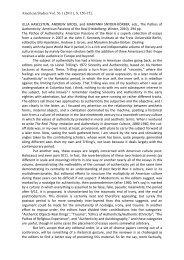 read more - John-F.-Kennedy-Institut für Nordamerikastudien - Freie ...