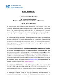 Ausschreibung [pdf] - John-F.-Kennedy-Institut für ...
