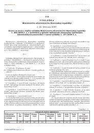 114/2007 Vyhláška Ministerstva zdravotníctva Slovenskej republiky ...