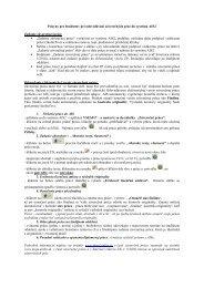 Pokyny pre študentov pri odovzdávaní záverečných prác do systému ...