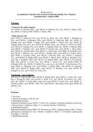 Zápisnica z VR JLF UK/1.10.2008