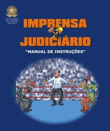 Imprensa x Judiciário - Justiça Federal de Primeiro Grau em São ...