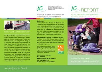 flyer JG report nr.2 entwurf DRUCK_druck - JG-Gruppe