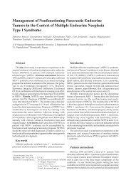 Nonfunctioning pancreatic endocrine tumors in MEN - Journal of ...