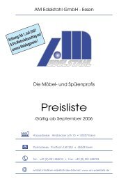 Katalog Am Edelstahl