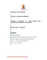 Request for Proposal - Jharkhand