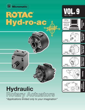Hydraulic Rotary Actuators