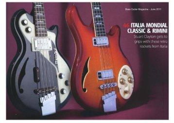 Bass Guitar Magazine - June 2011 - JHS