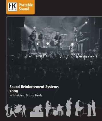 Sound Reinforcement Systems 2009 - JHS