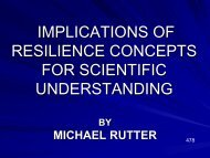 implications of resilience concepts for scientific understanding