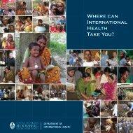 Where can International Health Take You? - Johns Hopkins ...