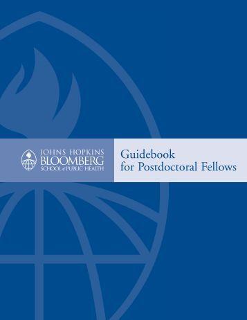 JHSPH Postdoctoral Fellows Guidebook - Johns Hopkins ...