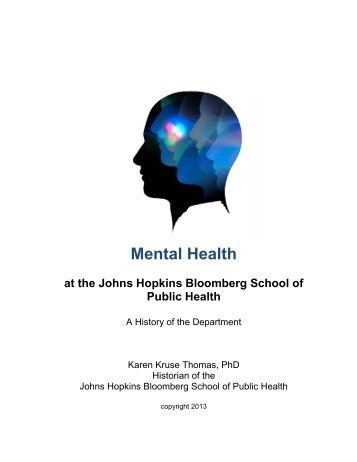 History of the Department of Mental Health - Johns Hopkins ...