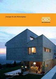 Lösungen für den Wohnungsbau - OBO Bettermann