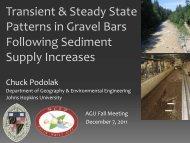 Podolak AGU (2011) presentation - Johns Hopkins University