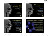 Evaluation of Imaging Performance in CT - Johns Hopkins University