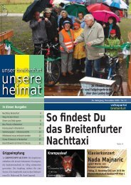 Unsere Breitenfurter Pfarren - VP Breitenfurt