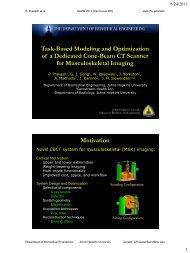 A Comprehensive Model for 3D NEQ - Johns Hopkins University