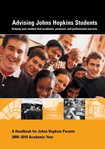 Advising Johns Hopkins Students - Johns Hopkins University