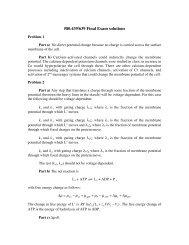 Final exam solutions 2006