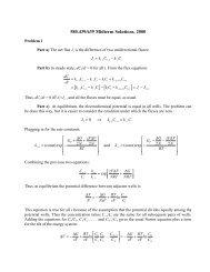 Midterm exam solutions 2000
