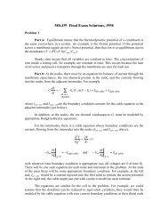 Final exam solutions 1998