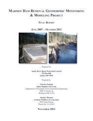 Final Report to OWEB (2011) Section 1 - Johns Hopkins University