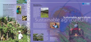 Sustainable Agriculture - John Innes Centre