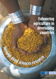 Enhancing Agriculture in Developing Countries - John Innes Centre