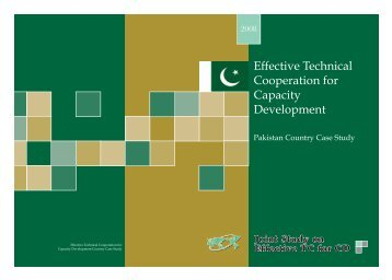 Effective Technical Cooperation for Capacity Development - JICA